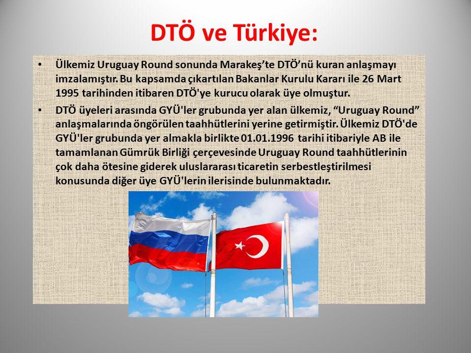 DTÖ ve Türkiye: