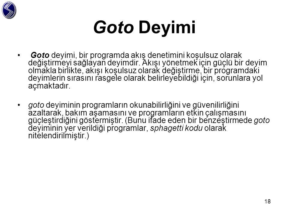 Goto Deyimi