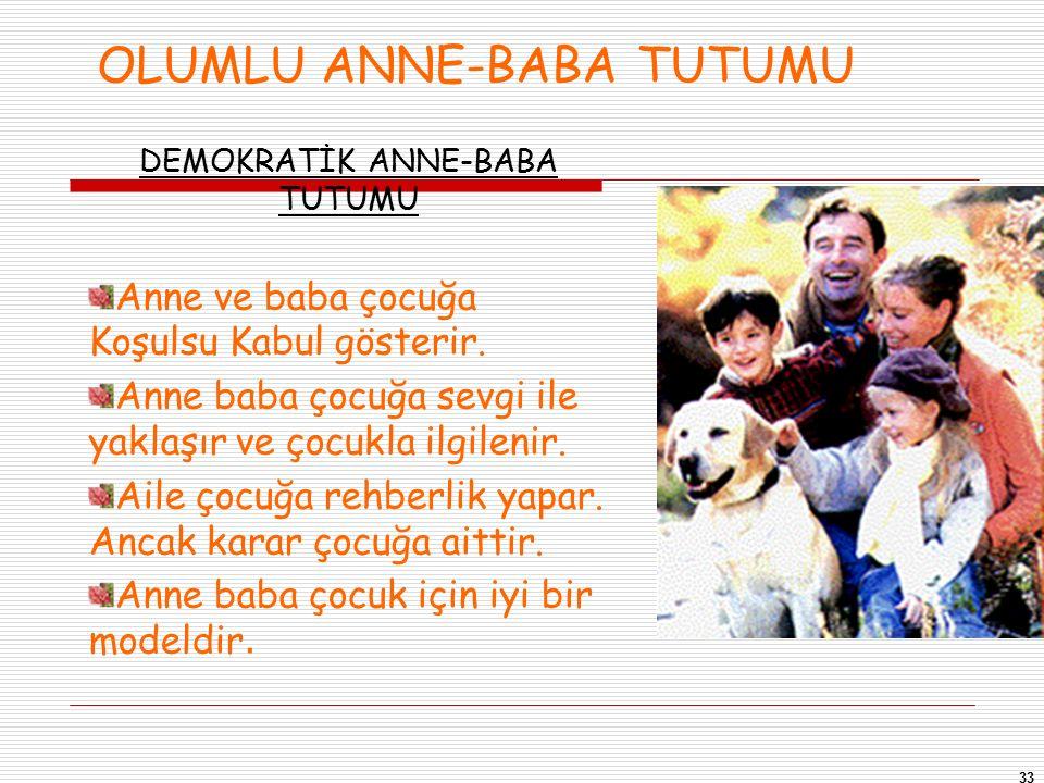 OLUMLU ANNE-BABA TUTUMU