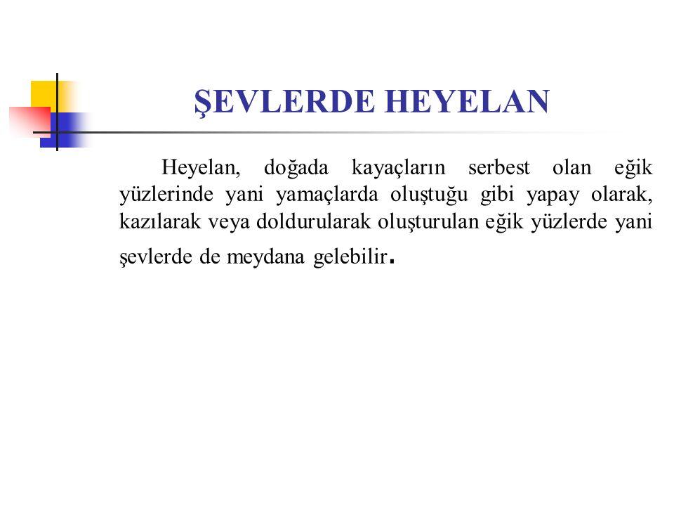 ŞEVLERDE HEYELAN