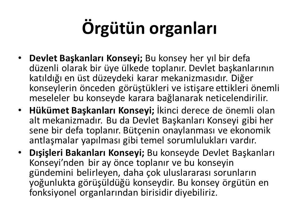 Örgütün organları