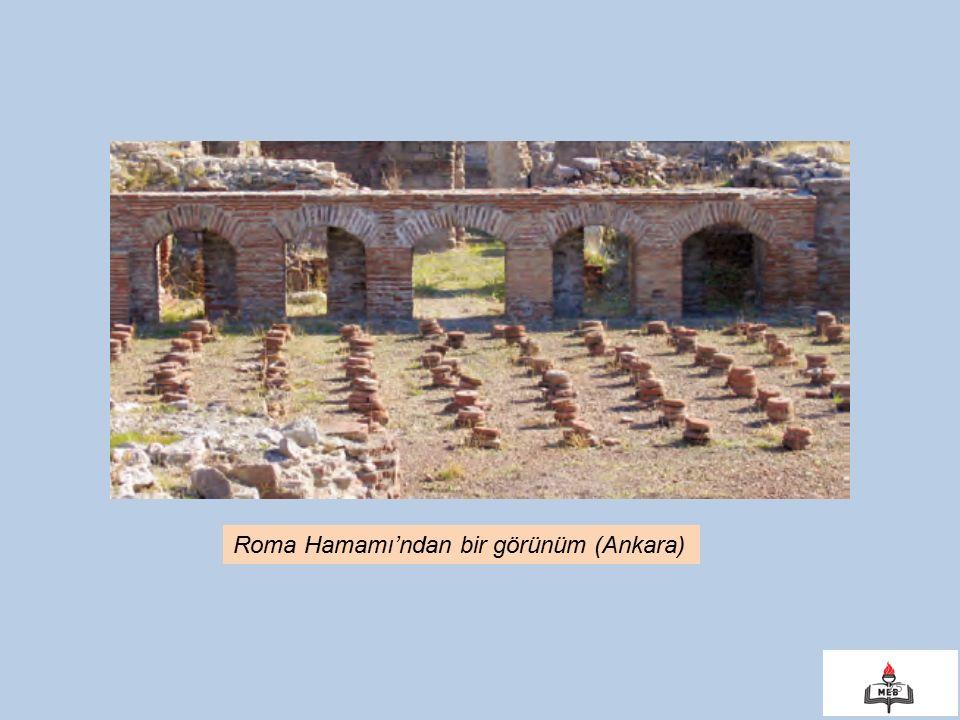 Roma Hamamı'ndan bir görünüm (Ankara)