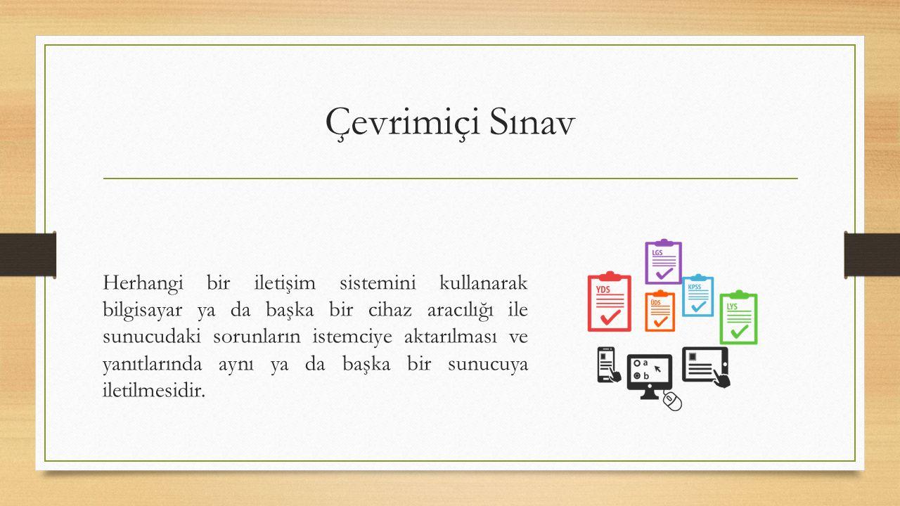 Çevrimiçi Sınav