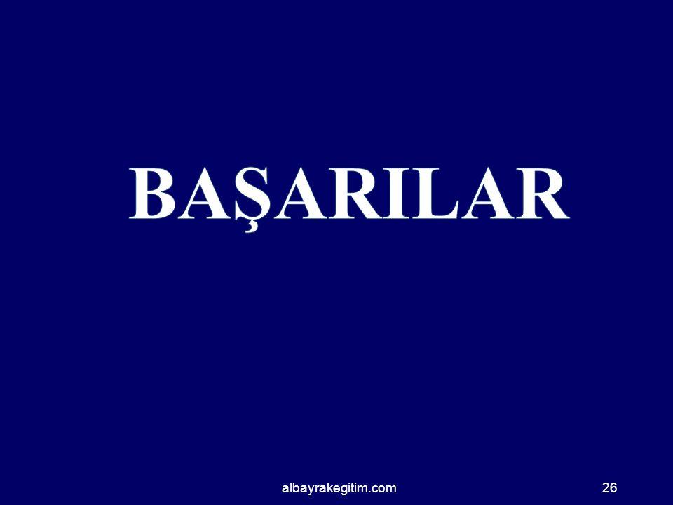 BAŞARILAR albayrakegitim.com