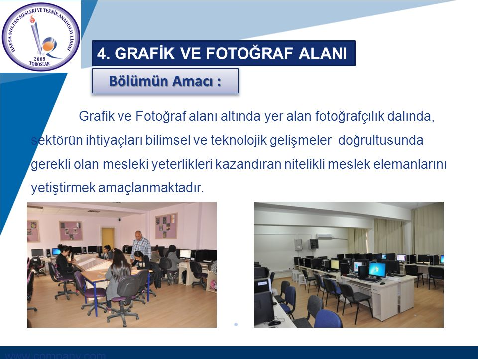 4. GRAFİK VE FOTOĞRAF ALANI