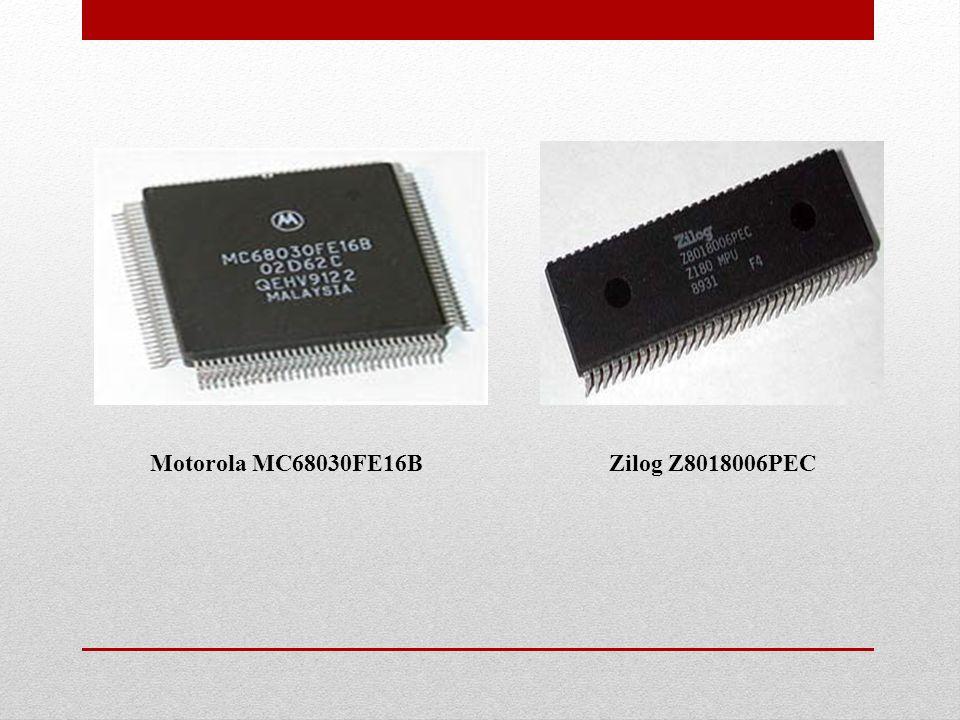 Motorola MC68030FE16B Zilog Z8018006PEC