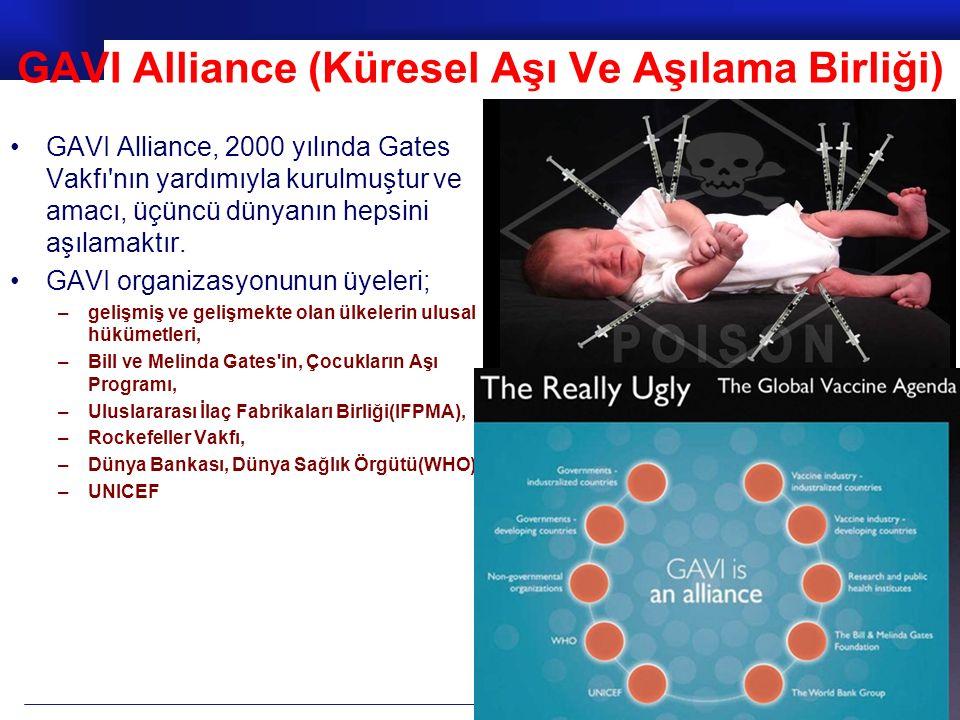 GAVI Alliance (Küresel Aşı Ve Aşılama Birliği)