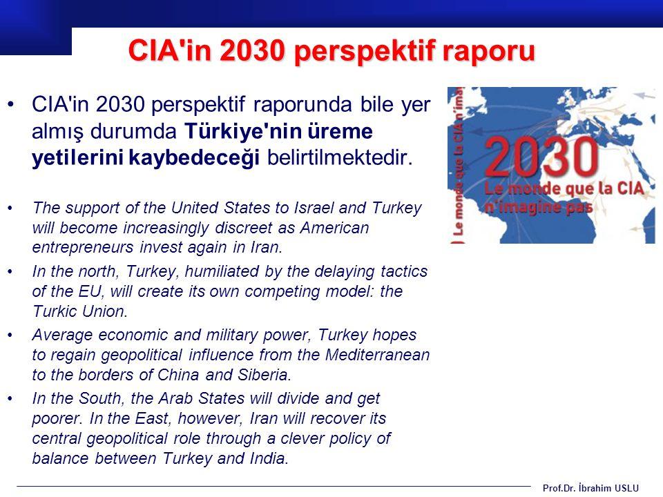 CIA in 2030 perspektif raporu