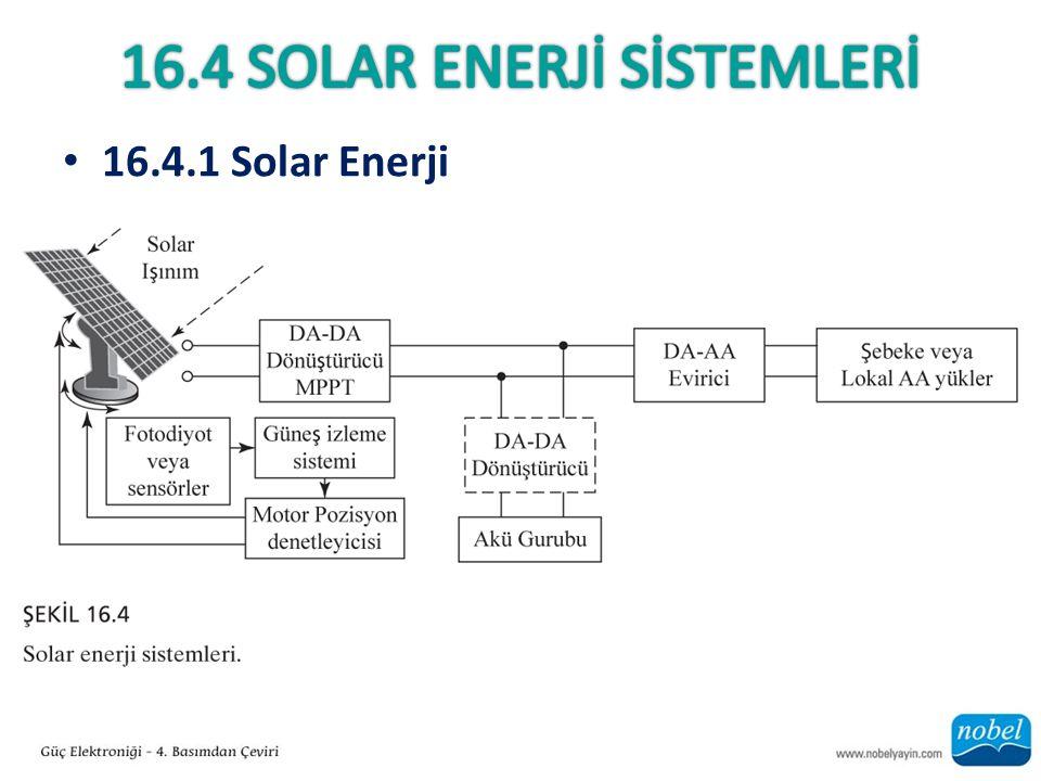 16.4 Solar enerjİ SİSTEMLERİ
