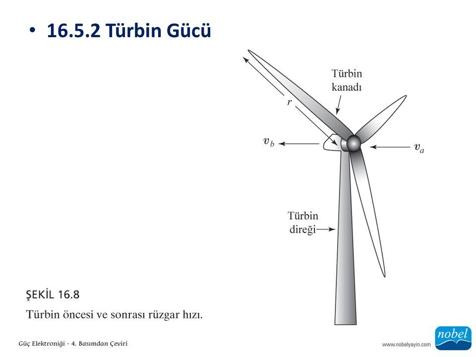 16.5.2 Türbin Gücü