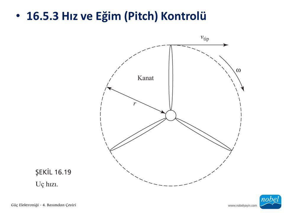 16.5.3 Hız ve Eğim (Pitch) Kontrolü