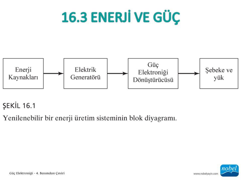 16.3 ENERJİ VE GÜÇ
