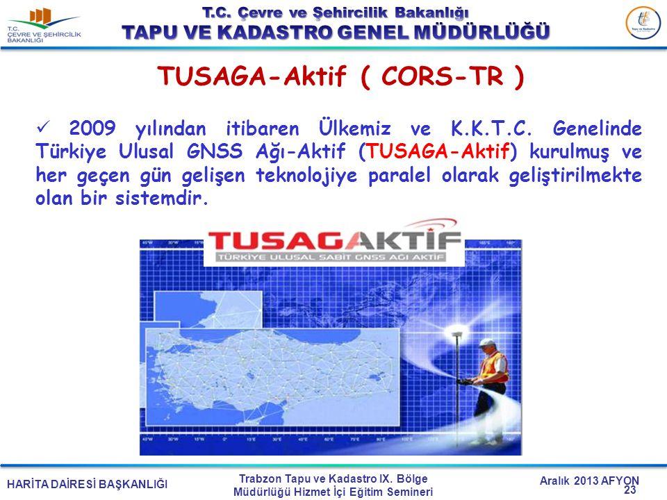 TUSAGA-Aktif ( CORS-TR )