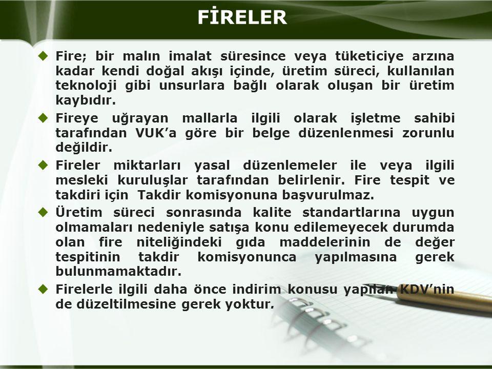 FİRELER