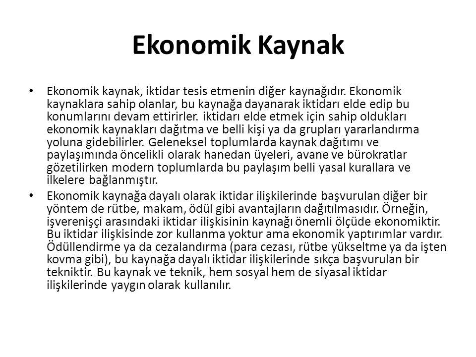 Ekonomik Kaynak