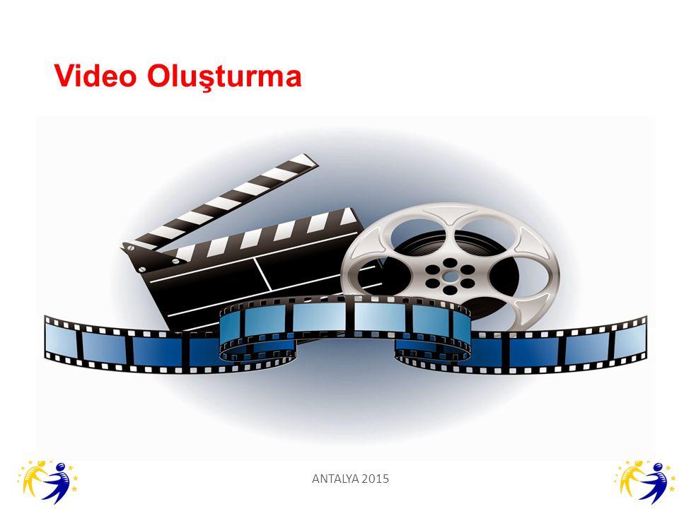 Video Oluşturma ANTALYA 2015