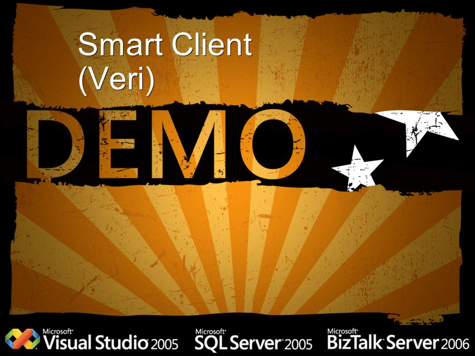 Smart Client (Veri) Second demo