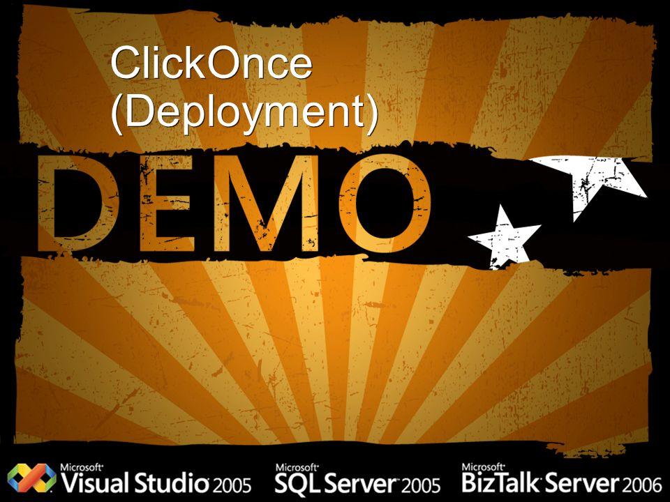 ClickOnce (Deployment)