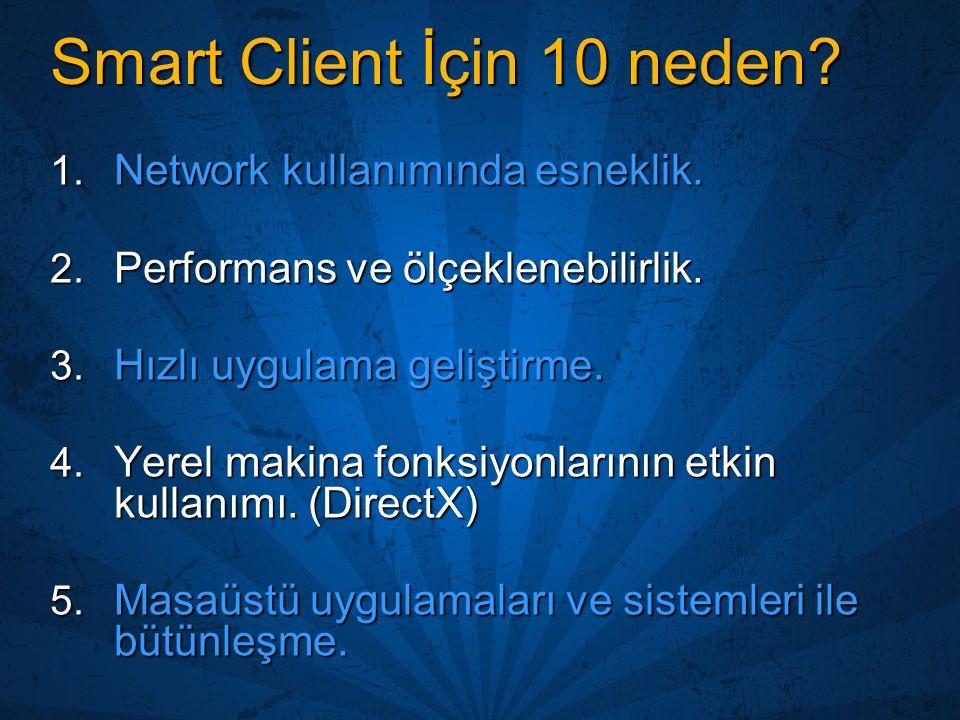 Smart Client İçin 10 neden