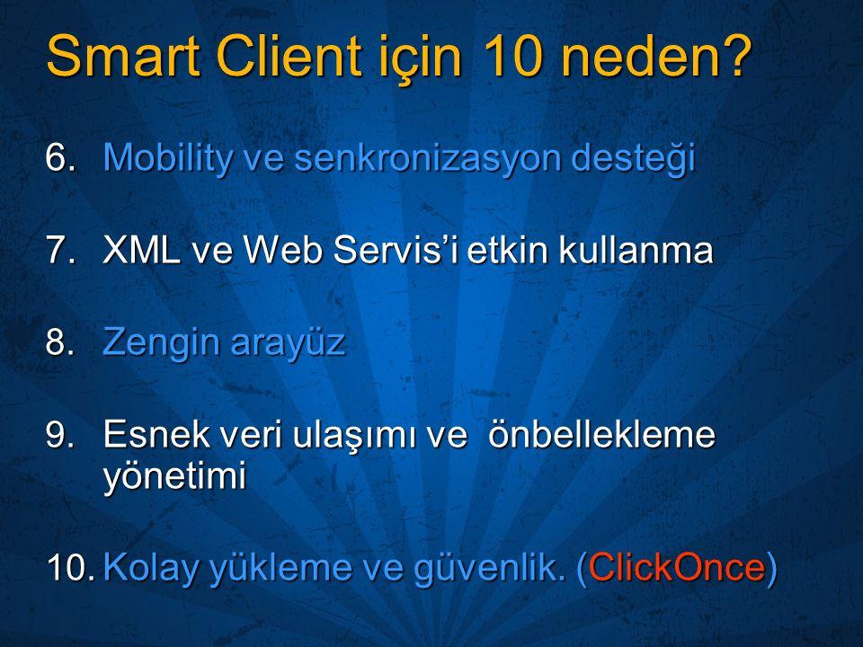 Smart Client için 10 neden
