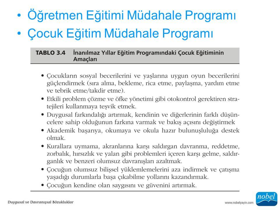 Öğretmen Eğitimi Müdahale Programı