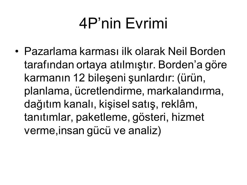 4P'nin Evrimi