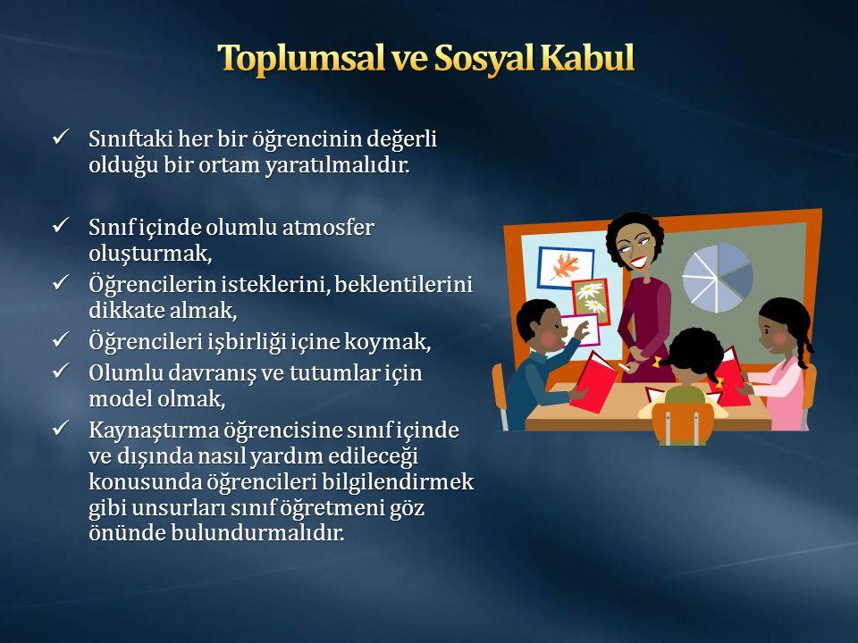 Toplumsal ve Sosyal Kabul