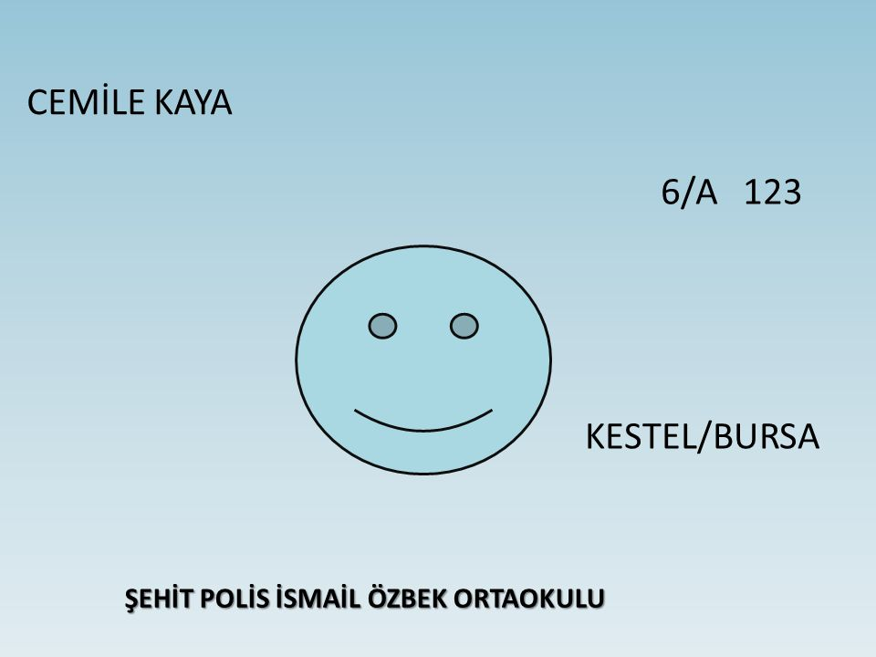 ŞEHİT POLİS İSMAİL ÖZBEK ORTAOKULU
