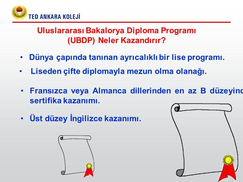 Uluslararası Bakalorya Diploma Programı (UBDP) Neler Kazandırır