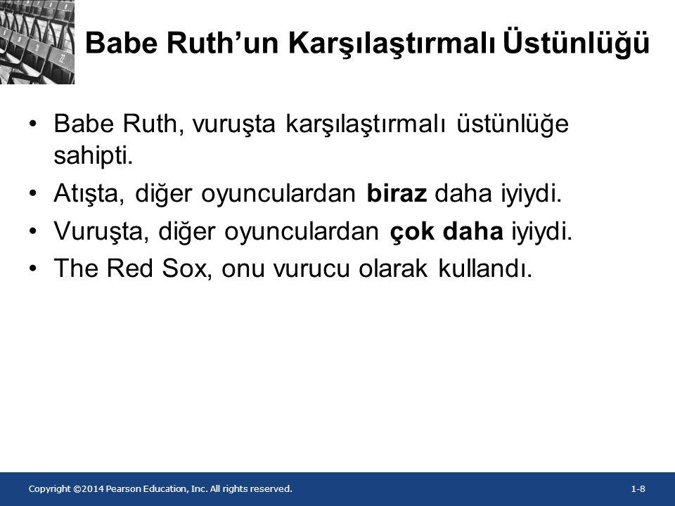 Babe Ruth'un Karşılaştırmalı Üstünlüğü