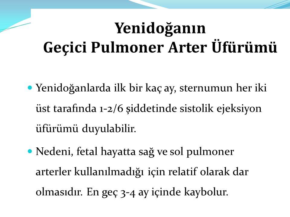 Yenidoğanın Geçici Pulmoner Arter Üfürümü