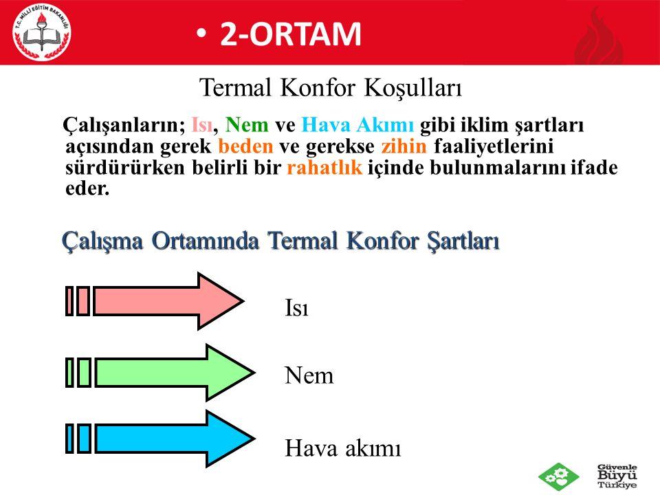 Termal Konfor Koşulları