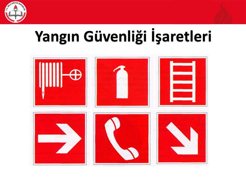 Yangın Güvenliği İşaretleri