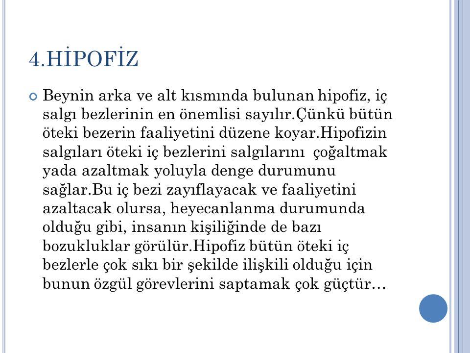 4.HİPOFİZ