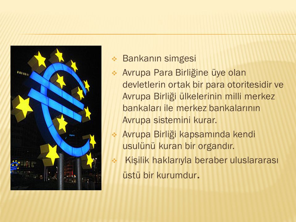 Bankanın simgesi