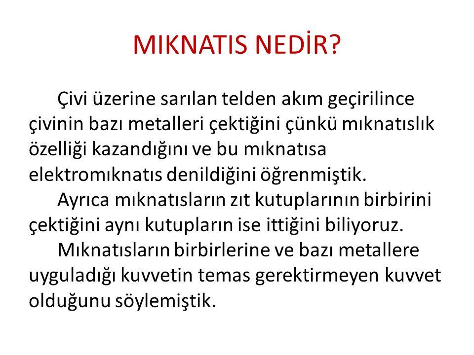 MIKNATIS NEDİR