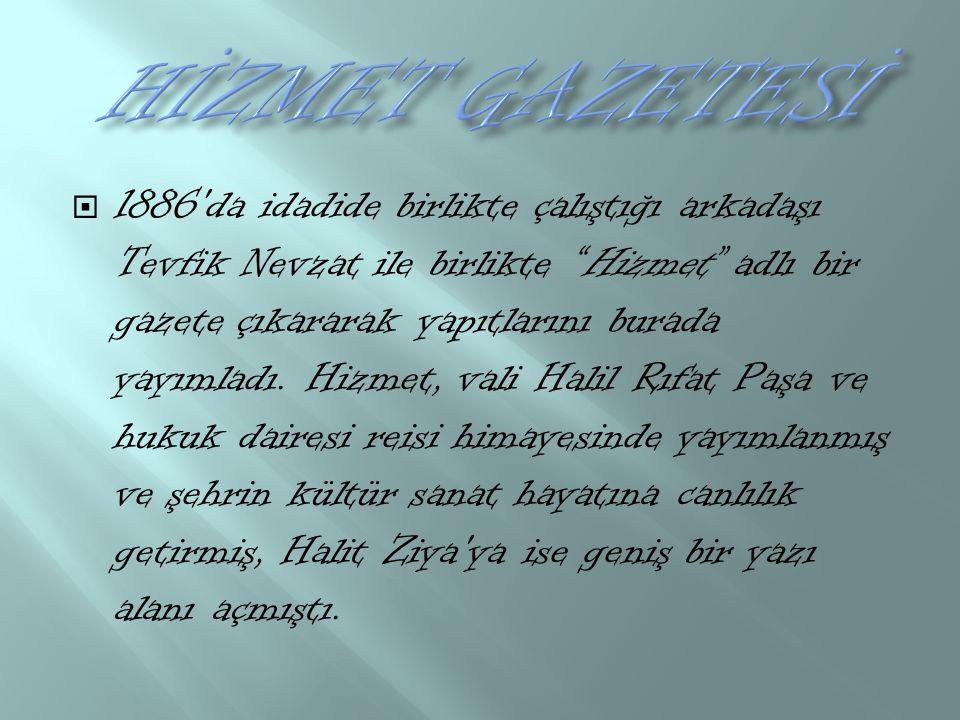 HİZMET GAZETESİ