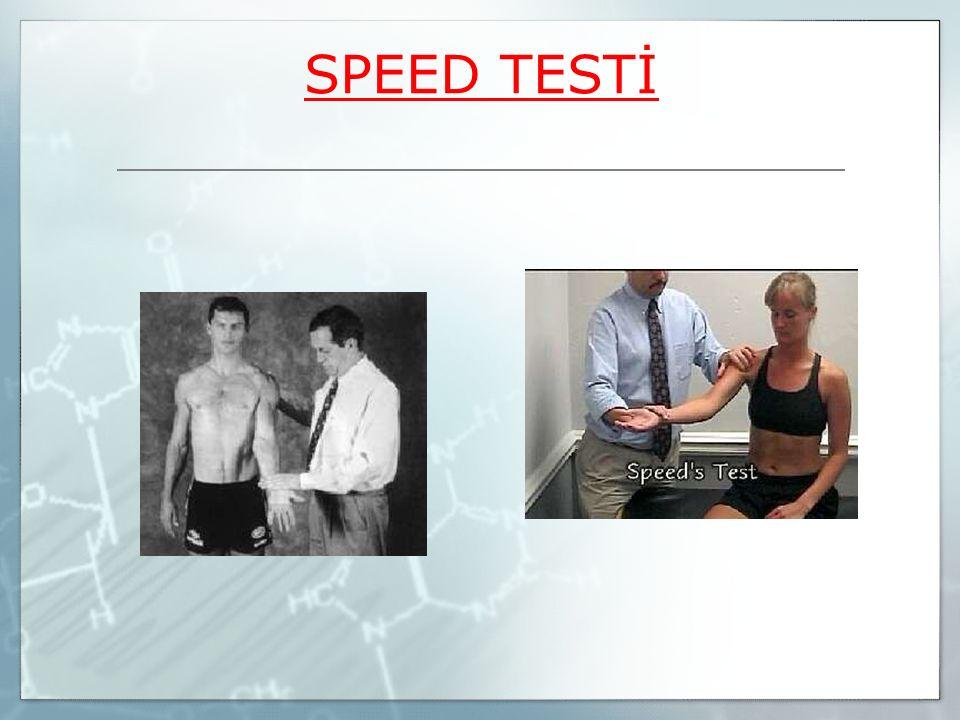 SPEED TESTİ
