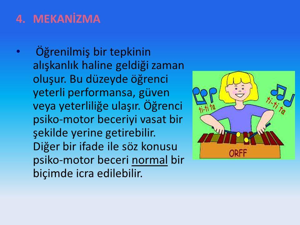 MEKANİZMA