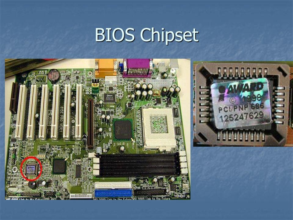 BIOS Chipset