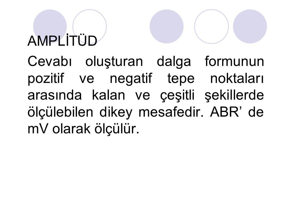 AMPLİTÜD