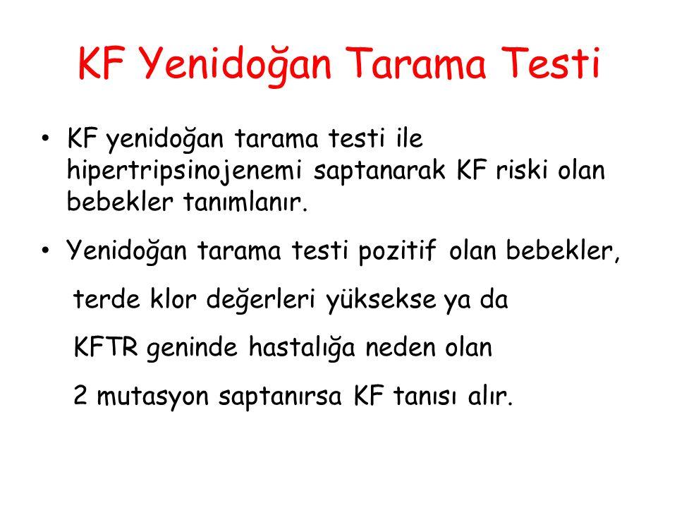 KF Yenidoğan Tarama Testi