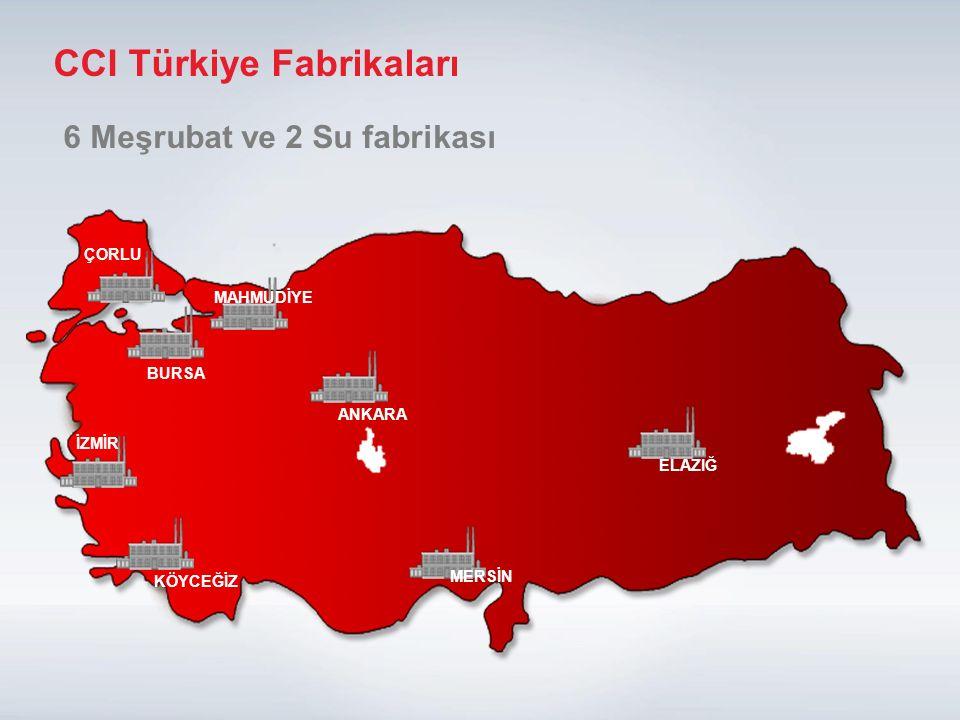 CCI Türkiye Fabrikaları