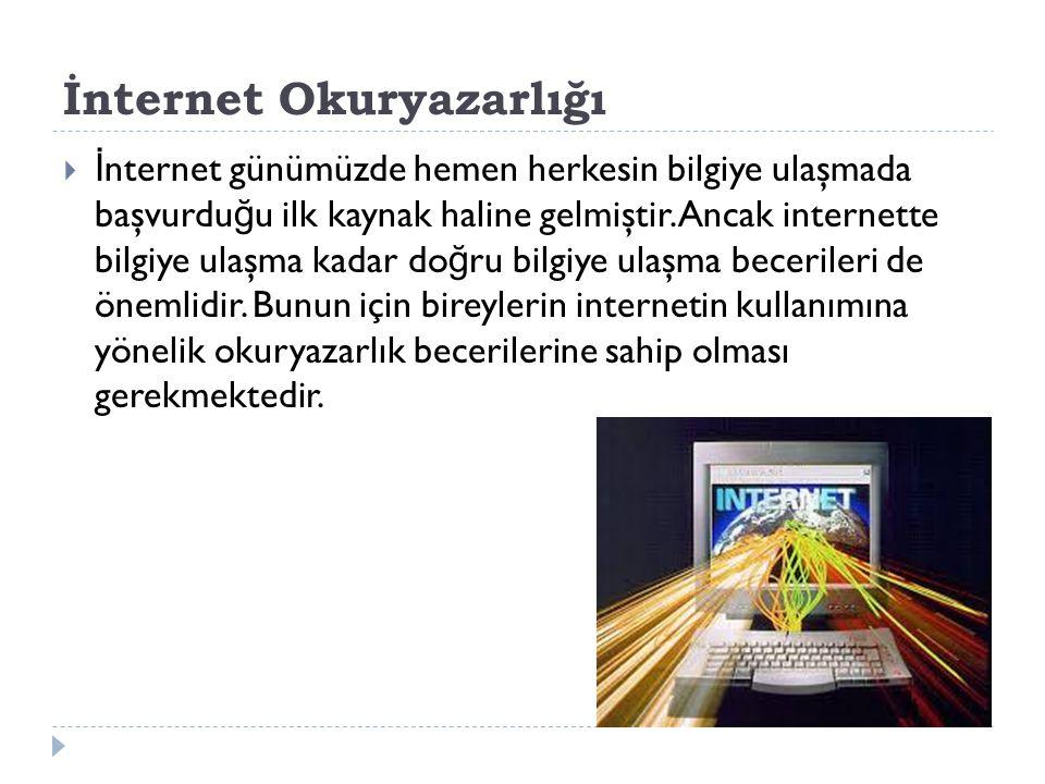 İnternet Okuryazarlığı