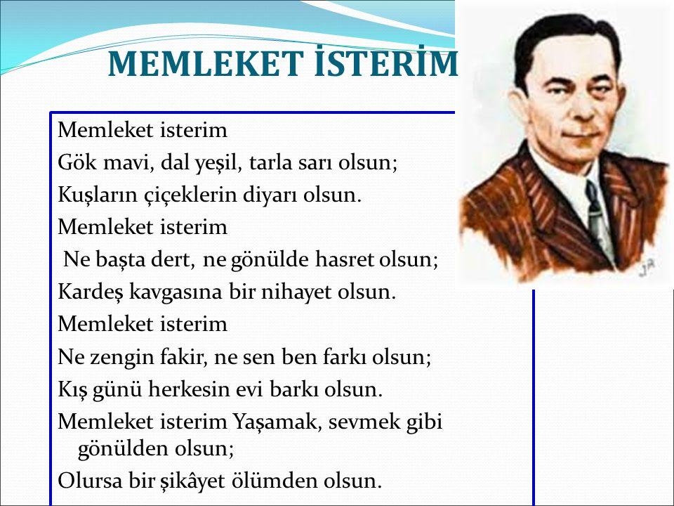 MEMLEKET İSTERİM