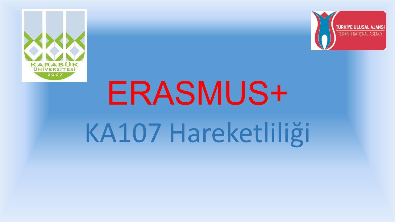 ERASMUS+ KA107 Hareketliliği