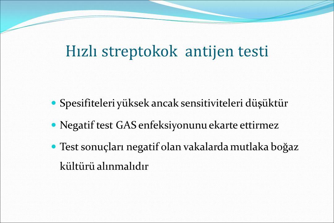 Hızlı streptokok antijen testi