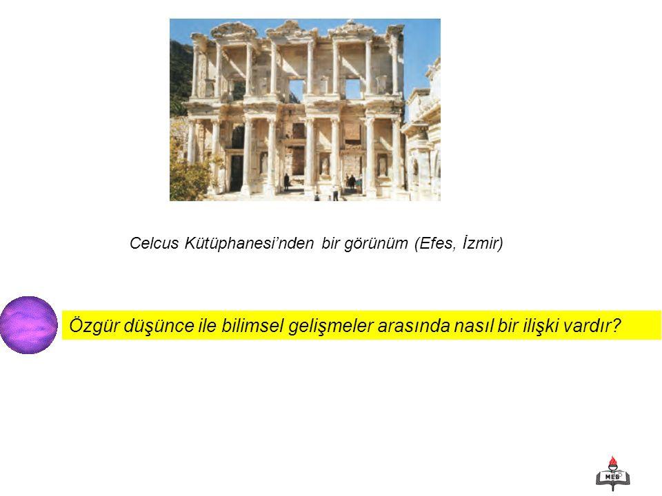 Celcus Kütüphanesi'nden bir görünüm (Efes, İzmir)