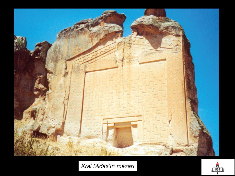 Kral Midas'ın mezarı