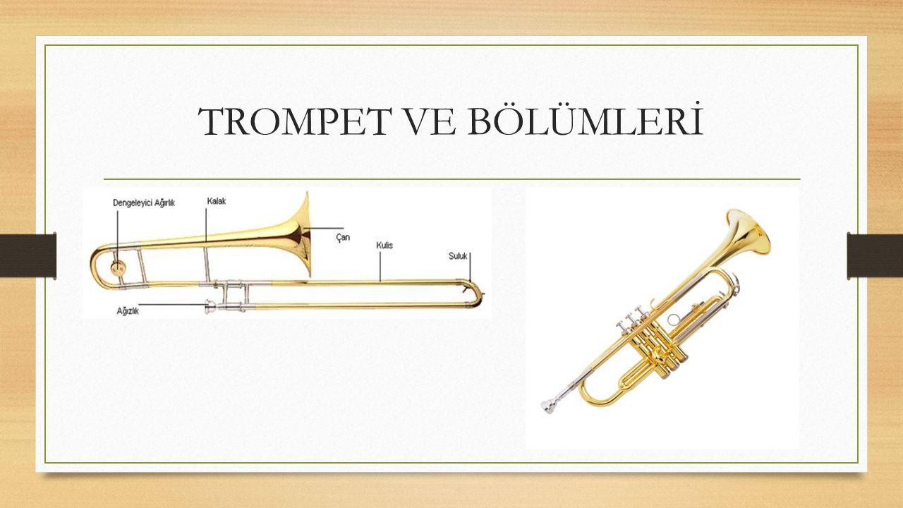 TROMPET VE BÖLÜMLERİ